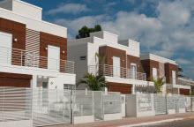 Le Jardin - 3 casas em Florianópolis - Santa Catarina - Fachada