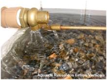 SRA Engenharia - Água de Reuso dos Filtros Verticais