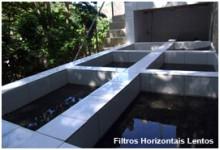 SRA Engenharia - Filtros Horizontais Lentos